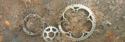 Quadro Materico in Resina