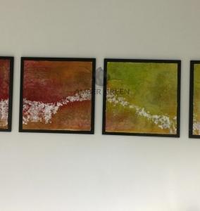 Pannelli in resina decorativa realizzati da ambergreen - Pannelli decorativi in resina ...