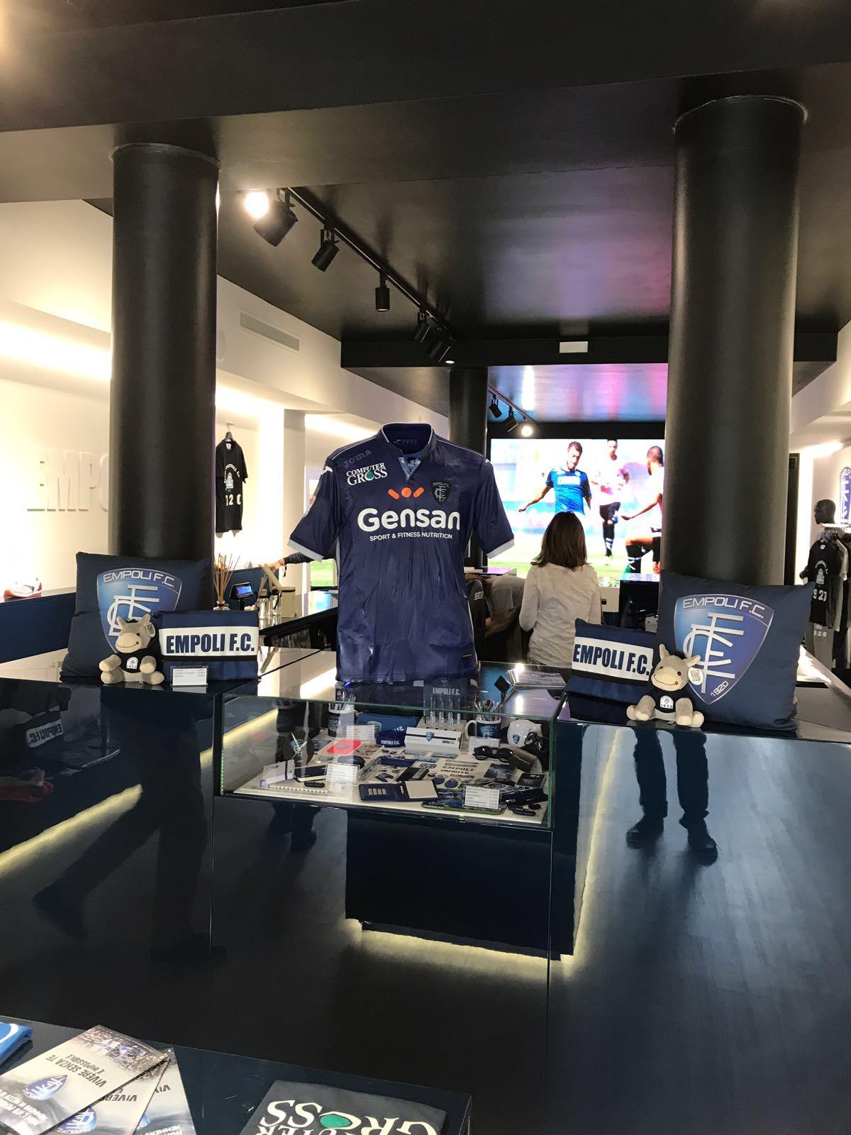 negozio Empoli Football club